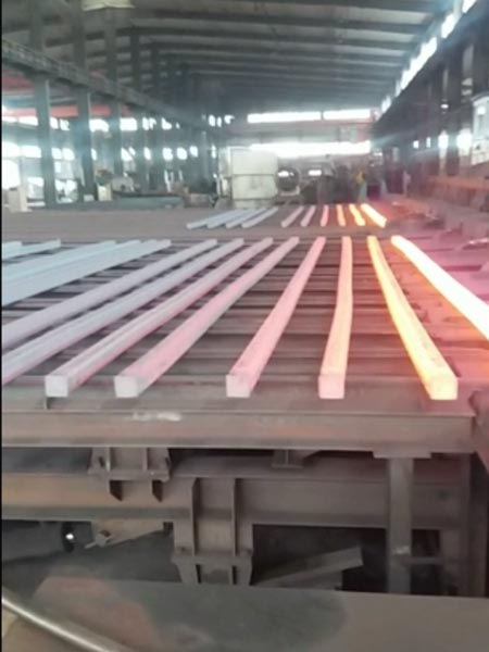 启运热轧异型钢生产视频